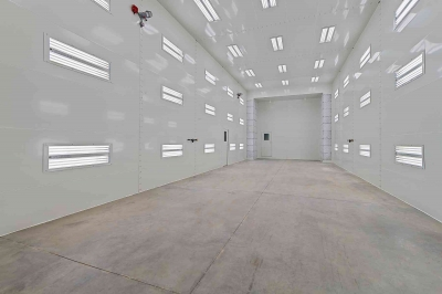 Oversized RV Paint Booth
